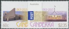 AUS SG3948-9 Centenary of Canberra set of 2